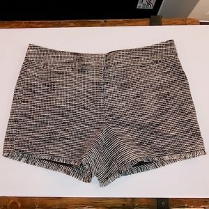 Ann Taylor Factory Signature black/white shorts NW